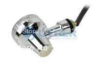 Wholesale 30Pcs/Lot Universal Motorcycle Turn Signals Indicators Turning Lights Lamp Chrome DC12V TK0202