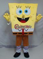 Freeshiping New Adult Cartoon costume Spongebob Mascot costume