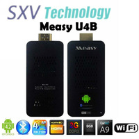 New Arrival Measy U4B TV BOX Quad Core MINI PC Android 4.2 OS RK3188 1.8GHz 2GB/8GB ROM Bluetooth WIFI HDMI