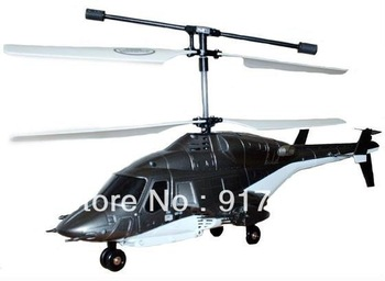 (Clearance Sale: FREE SHIPPING) 3CH Mini RC Helicopter Syma Fire Wolf s027 Remote Control Outdoor Indoor Toy
