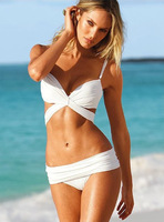 X Form 2013 New Fashion High Quality Women Swimwear Sexy Bikini Set Push-up Black/White Size S /M/ L [A01000401]