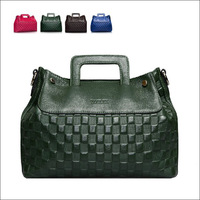 Free shipping women's fashion handbags 2014 new designer Lady Totes bags Black blue green red 4 colors  2044