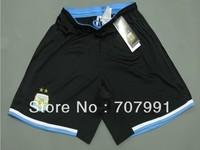 2014 WC Top Thailand Quality Argentina Higuain Messi Black White Football Soccer Jerseys Shorts kits Short Pants Embroidery Logo