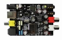 24bit 192KHZ DAC USB sound card Optical fiber Input USB coaxial output board CM108AH CS8416 CS4344