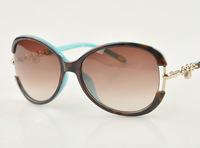 TF 2013 Brand Sungalsss For Women TF4067  Acetate Frame Small locks style Sunglasses 4607 Free shipping