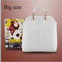 Hot !2013 fashion High Quality POLO Designer Brand Women bag Crocodile Genuine Leather tote bag shoulder bags women handbags