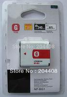 1pc NP-BG1 NP-FG1 NPBG1 BG1 replacement rechargeable digital camera lithium battery pack for sony DSC-H20 DSC-T100,960mAh