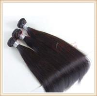 Free Shipping Moska Straight Brazilian Virgin Human Women Hair 1pcs 100g/pcs 5A Natural Color Fantasia