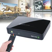 dual core RK3066 Android 4.1 TV receiver WiFi media Player google internet TV box Cortex A9 black USB2.0 RJ45