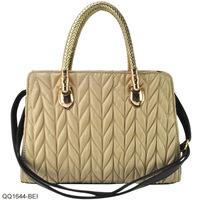 Free Shipping 7 Colour 2014 New Arrival Drape PU Leather Women's Handbag Fashion Tote Bag QQ1644