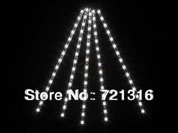 5pcs Waterproof 30CM/15 LED Car Motors Truck Flexible Strip Light String White, Free Shipping