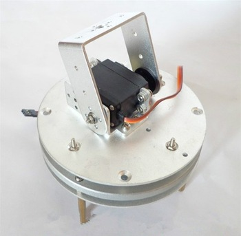 Arduino robot base 2 DOF Servo PTZ camera Photography turntable turntable chassis