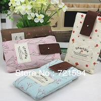 Free Shipping Blue Pink Brown Leisure Small And Pure And Fresh Cell Phone Package Mobile Phone Cases