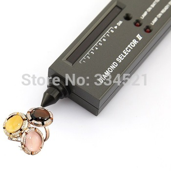 3Days Ship Out! Dropshipping V2 Diamond Tester Gemstone Selector Tool LED+Audio NEW Quality Free Shipping TD0017