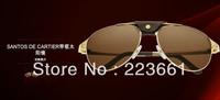 2013 New luxury pinnacle product stylish high-end anti UV Men polarizing sunglass brand designer the sun glasses Free shipping