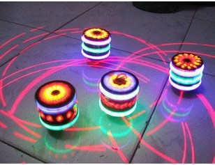 spinning top colorful music spinning top flashing light up toy. Black Bedroom Furniture Sets. Home Design Ideas