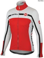 2013 women Castelli Cycling Jersey Long Sleeve Only Cycling Clothing 2013 New red castelli women cycling wear Free shipping