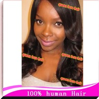 Pretty silk top wig with 4*4 silk base invisible knots brazilian virgin hair glueless full lace wig density 130%-150% in stock
