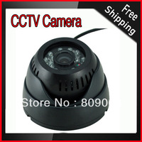 6mm Camera Lens 0.3 Mega Pixels Infrared Night Vision Function Motion Detection Digital Video Recorder CCTV Camera