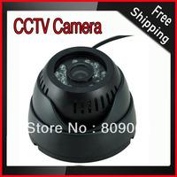 6mm Camera Lens 0.3 Mega Pixels Infrared Night Vision Function Motion Detection Digital Video Recorder CCTV Camera