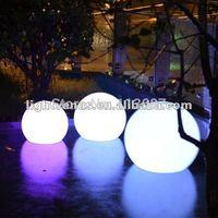 High quality light solar rgb Led garden ball for decoration