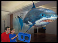 RC Remote Control Air Flying Fish Shark/ Clownfish Inflatable Toy Swimming Fish Swimmers In The Air(China (Mainland))