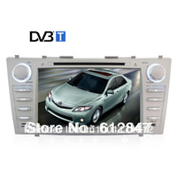 2013 Win CE 800 MHz Car Radio DVB-T For Toyota Camry 2007-2011 GPS  4G Free Map Card Support English Russian Spain Language