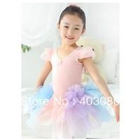 4 pcs/ 1 lots wholesale 4-8 years Children's ballet skirt,kid tutu dance dress,dancing dress,baby skirt 148#