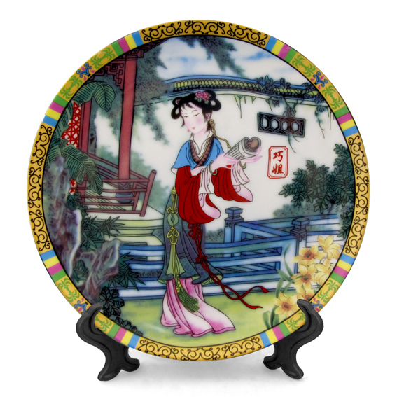 The hanging plate decorated proprietary modern Home Decoration fashion crafts interiors pieces - 12 hairpin set (wholesale)(China (Mainland))
