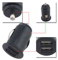 5V 2.1A Universal Mini Micro Auto 2-Port Dual USB Car charger for Samsung For HTC for apple,mobile phone car charger