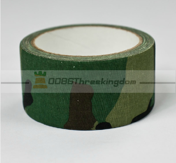 5x 10M long fabric army camouflage tape cloths camo military tactical tape WJ003#5(China (Mainland))