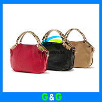 2013 fashion womens shoulder bag Genuine leather Messenger handbags shoulder bag women handbag Christmas gifts free shipping