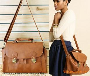 Wholesale new fashion British flip retro handbag Messenger bag woman's shoulder bag 238