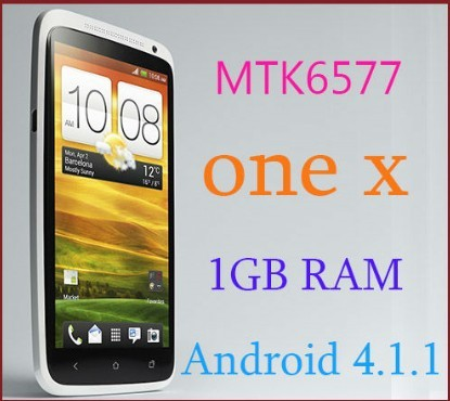 Really 1:1One X S720e MTK 6577 phone 4.7&quot; HD scree android 4.1.9 1GB RAM dual core 1.5GHz CPU(China (Mainland))