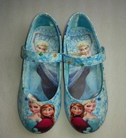 2013 spring child baby MINNIE slip-resistant shoes single shoes female child leather