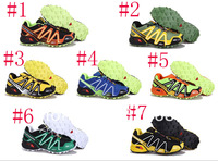 China Post Air New Arrival 7 Colors Salomon Running shoes Men Sport Running Shoes Mens Sneakers 40-45 Wholesale Price