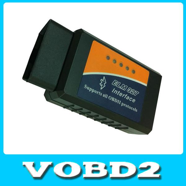Original ELM327 Bluetooth OBDII V1.5 CAN-BUS Diagnostic Scanner obd 2 Elm 327 Bluetooth Car Scan Tool Free Shipping(China (Mainland))