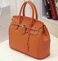 2015 Casual 1pc /lot Free Shipping Hotsell Celebrity Girl Faux Leather Handbag Tote Shoulder Bags Casual Handbag