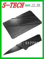 FREE SHIPPING !!!  Newest Blade Show Iain Sinclair Cardsharp knife Credit Card Wallet Folding safety knife DIY for gift