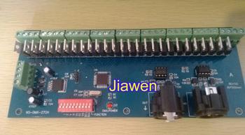 30 channel / 27 Channel easy DMX512 Led Controller,dmx decoder & driver rgbw controller