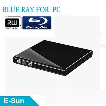 Slim design USB 2.0 External Portable Optical DVD RW Drive 12.7mm Blue ray Burner Drive For Laptop PC Free Shipping