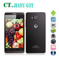 "JIAYU G3T G3 MTK6589T Quad Core Smartphone Android 4.2 4.5"" IPS Screen 1GB RAM 4GB Dual Camera 8.0MP WCDMA 3G WIFI Dual Sim"