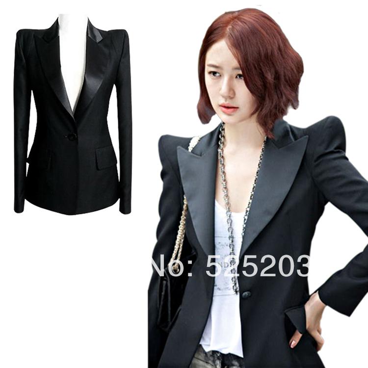 Black Blazer With Black Shirt Women Black Blazer Women Plus
