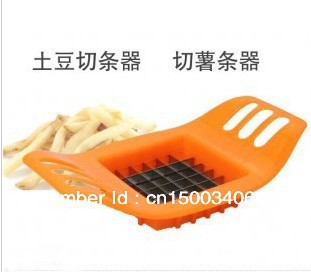 Free shipping Wholesale Potato strip cutting machine Melon and fruit knife Use on fries Kitchen tools(China (Mainland))