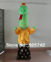 snake show props performance wear mascot cartoon costume full body mascot Include shoes and gloves