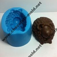 Curly sheep handmade chocolate mold soap mold cake mold silicone mold
