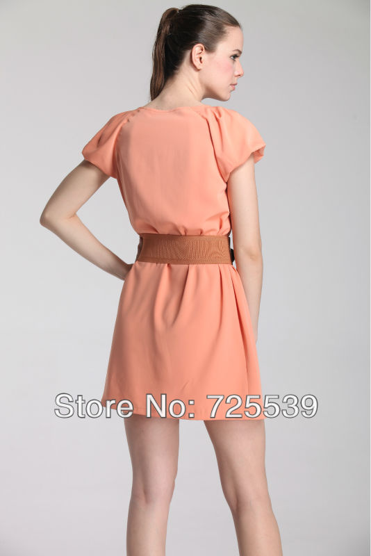 2013 New Fashionable Dress Summer Dress Elegance Dress office-work Dress(China (Mainland))