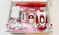 7680-5 New 5 in 1 RECHARGEABLE Epilator Ladies Hair Removal Shaver Shaving Trimmer Lady Shaver Free shipping