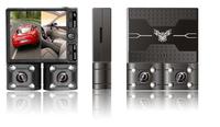 double camera 2 channels hd mini dvr camera