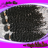 6A Queen Hair: Suprising Factory Price Virgin Remy Non-processed Malaysian Deep Wave human Hair